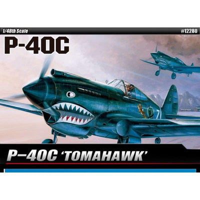 Academy 12280 1/48 p-40c Tomahawk | Pinnacle Hobby