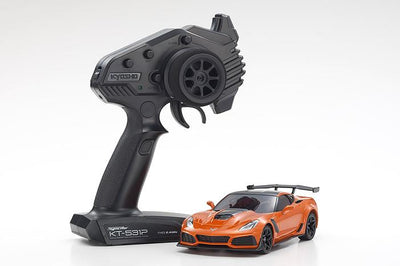 Kyosho 32334OR Mini Z Corvette ZR1 Orange RWD RTR | Pinnacle Hobby