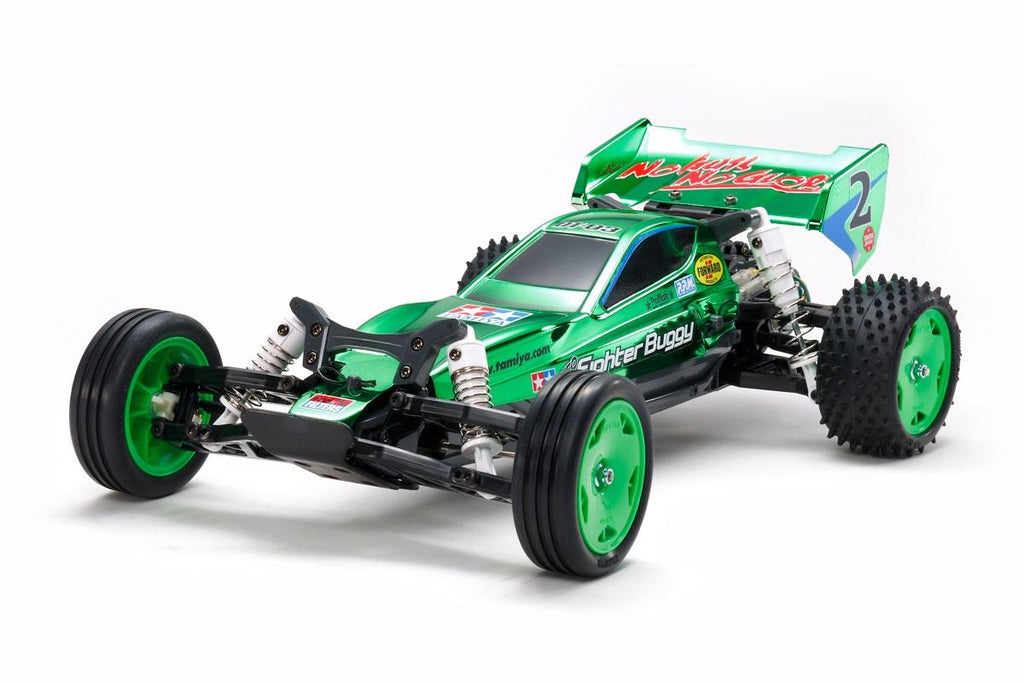 Tamiya 47371 Neo Fighter Buggy Metallic Green DT03 | Pinnacle Hobby