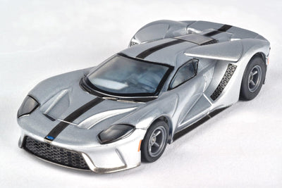 AFX 22012 Mega G+ Ford GT Silver | Pinnacle Hobby