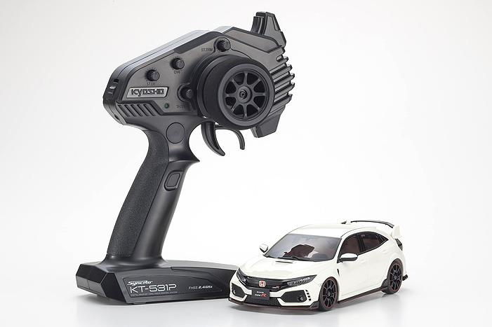 Kyosho 32613W-B Mini Z Honda Civic Type R AWD RTR | Pinnacle Hobby