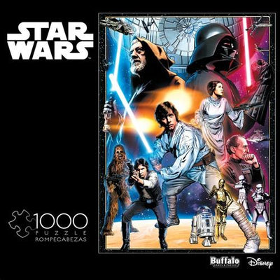 Buffalo Puzzles 11801 1000 pc Star Wars: A New Hope Puzzle | Pinnacle Hobby