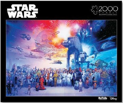Buffalo Puzzles 02088 1000 pc Star Wars: You wer the chosen one puzzle | Pinnacle Hobby