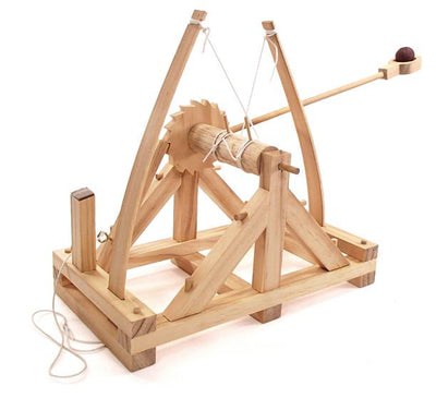 Pathfinders Design #17 Leonardo Da Vinci Catapult | Pinnacle Hobby