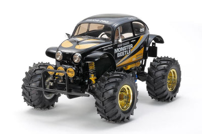 Tamiya 47419 Monster Beetle Black Edition | Pinnacle Hobby