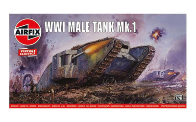 Airfix A01315V 1/76 WWo Male Tank | Pinnacle Hobby