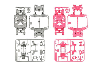Tamiya 95235 MS Chassis set gray/pink | Pinnacle Hobby