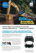 Diecast Masters 28001 1/20 R/C Cat Excavator | Pinnacle Hobby