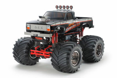 Tamiya 47432 1/10 Super Clod Buster Black Edition | Pinnacle Hobby