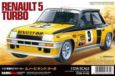 Tamiya 47435 1/12 M-05 Renault 5 Turbo Rally | Pinnacle Hobby