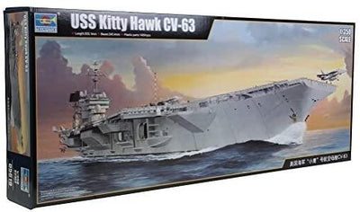 Trumpeter 05619 1/350 U.S.S. Kitty Hawk CV-63 Carrier | Pinnacle Hobby