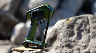 Spektrum 5200G DX5 Rugged in Grean: Transmitter only | Pinnacle Hobby