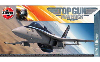 Airfix A00504 1/72 F/A-18 Hornet: Maverick Top Gun | Pinnacle Hobby