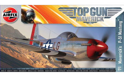 Airfix A00505 1/72 P-51 Mustang: Maverick Top Gun | Pinnacle Hobby