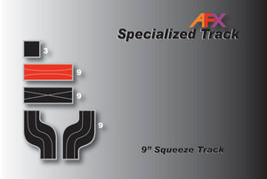 AFX 70603 9 Inch Squeeze Track | Pinnacle Hobby