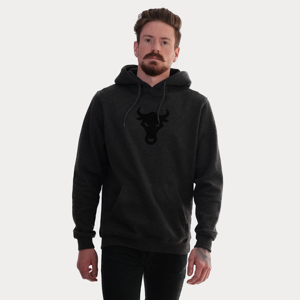 Crew Hoody Big Bull Hooded - thisisthebull®