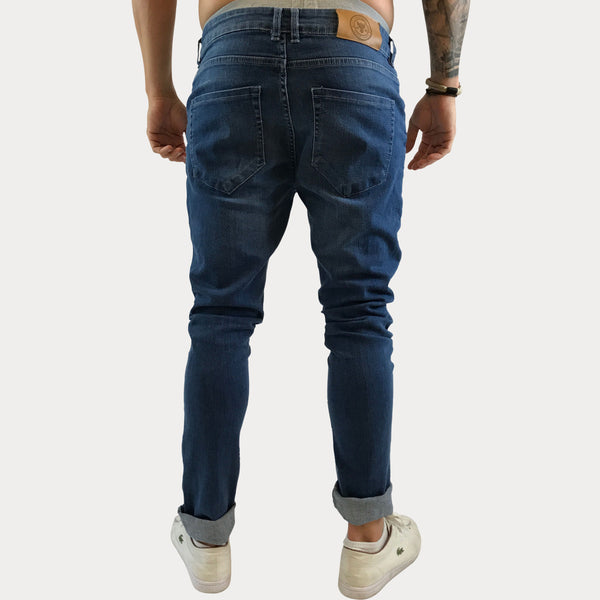 Destroyed Bull Denim Pants