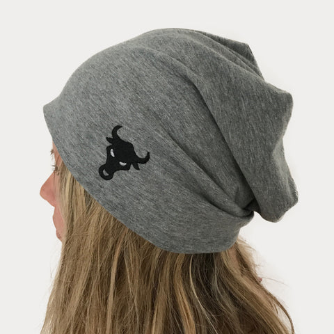 Jersey Beanie - Light Grey