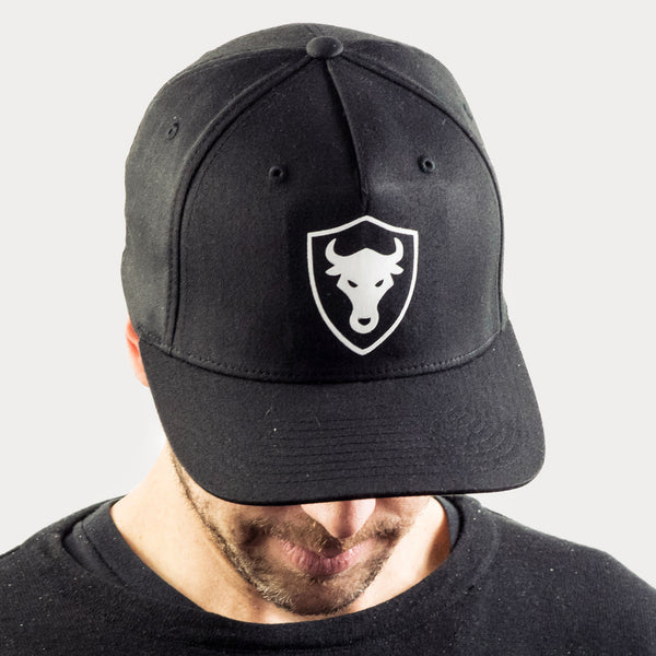 Shield Bull Fitted Cap Fitted Caps - thisisthebull®