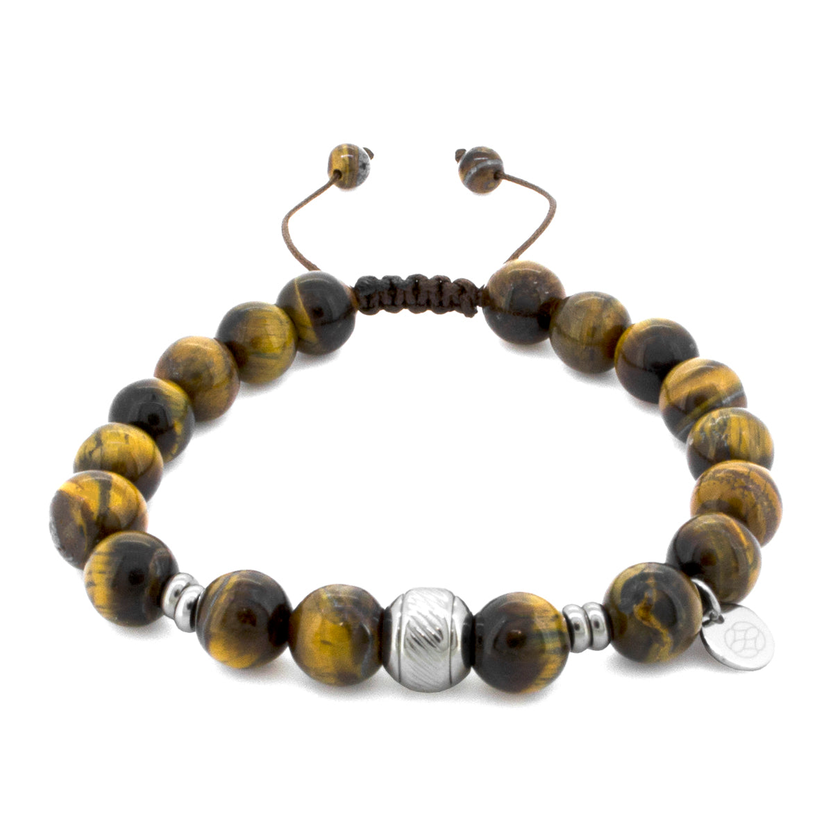 Allora Tiger Eye 10 MM Stainless Steel