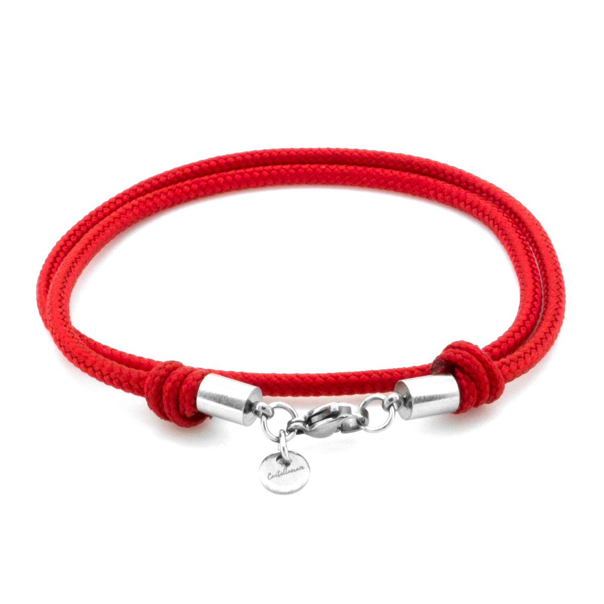 Isola II Red 3 MM Stainless Steel