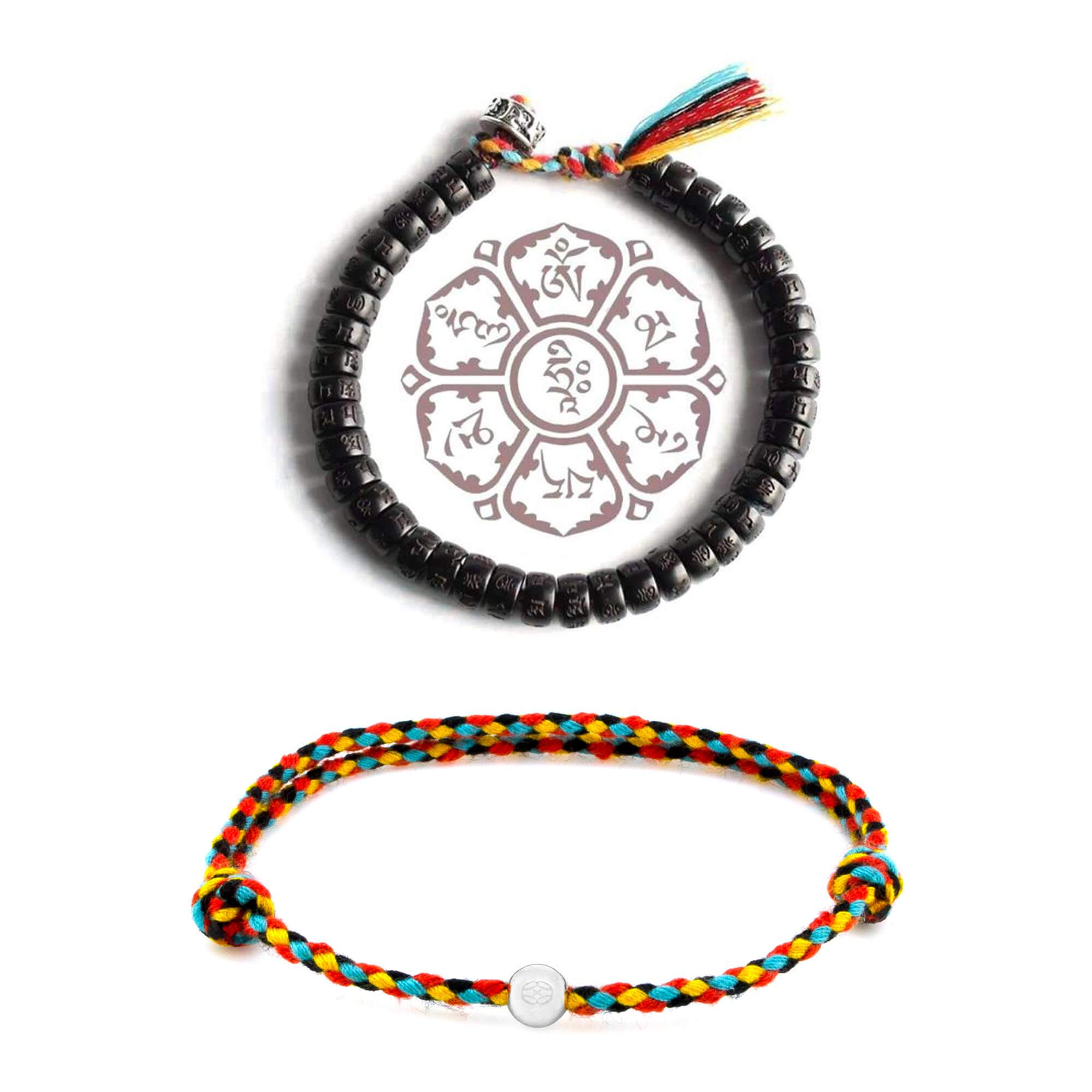 Sterling Silver Tibetan Bundle - Protection | Energy