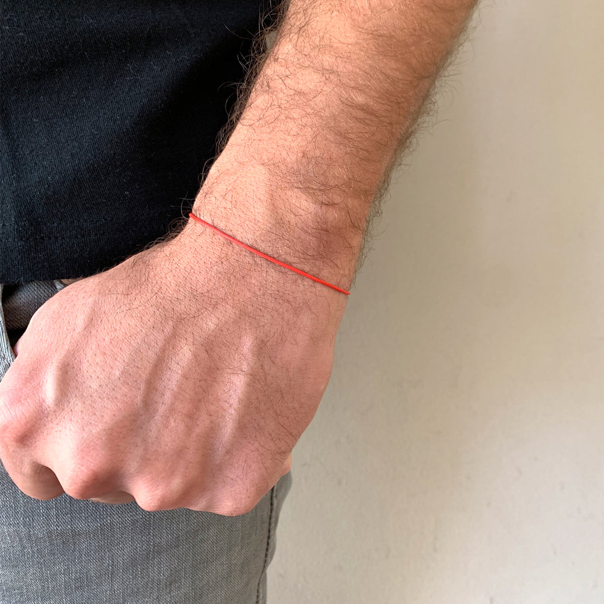 Isola 1 mm Red String Sterling Silver