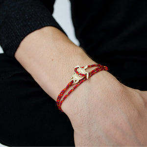 Bari Red Turtle Gold 14K