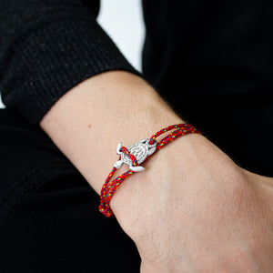 Bari Red Turtle Sterling Silver