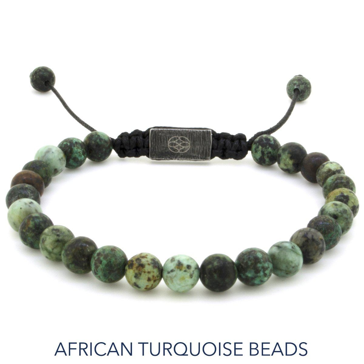 Bracelet - Allora 6 Mm African Turquoise