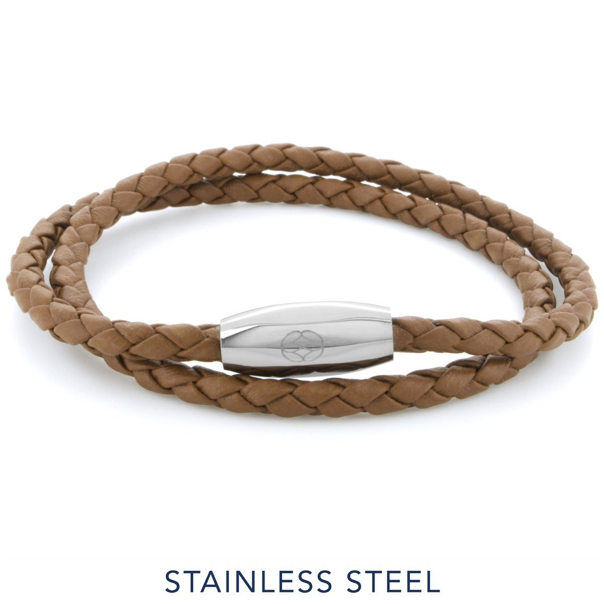 Bracelet - Numana Double 4 Mm Brown Nappa Leather