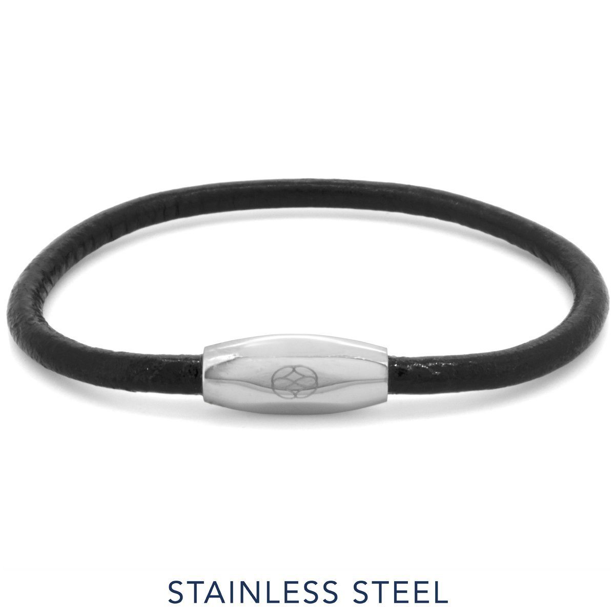 Bracelet - Numana Pelle Black Leather