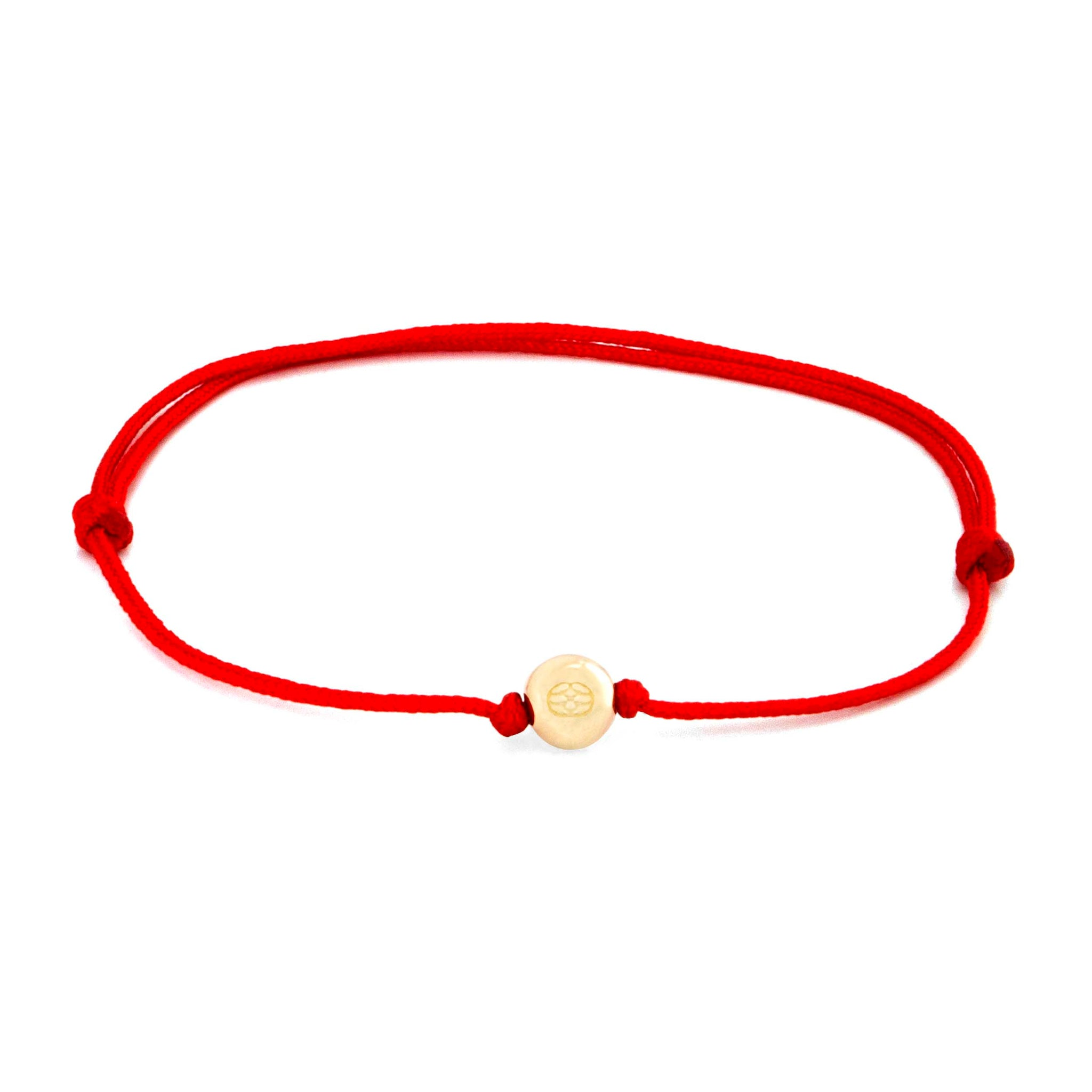 Amalfi Giro Red Adjustable 14k Gold