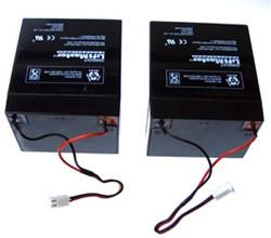 Liftmaster Replacement Battery Set 41B591 for 475LM