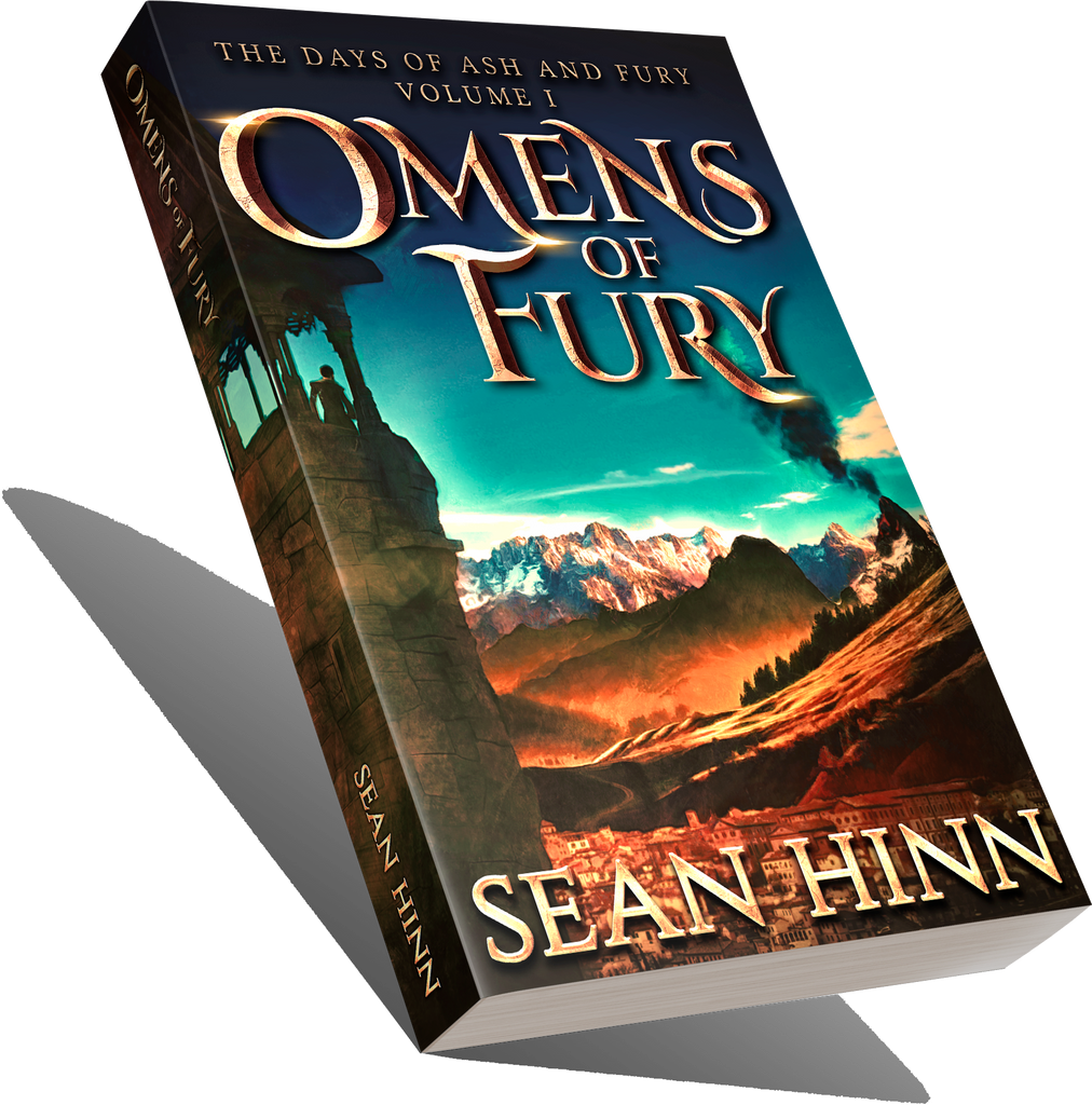 Omens of Fury - The Days of Ash and Fury Volume One - AUTOGRAPHED