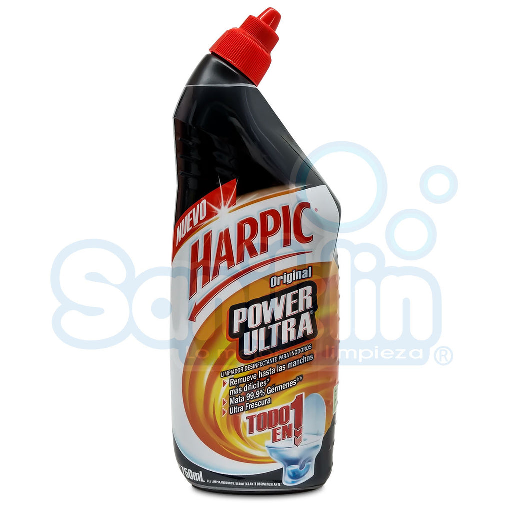 Quita Sarro Harpic Power Ultra