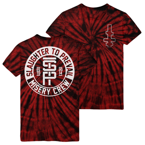 Misery Crew Red Tie-Dye