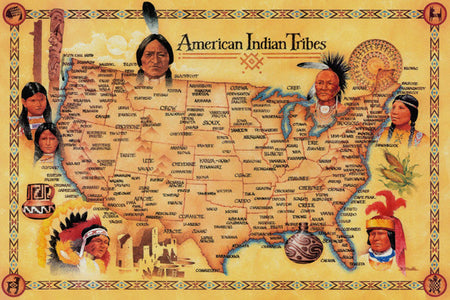 The Largest Native American Tribes Still Around Today