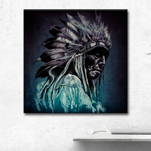 Native American Wall Art Canvas