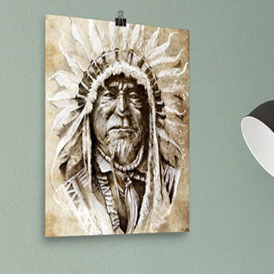 Native American Wall Art Poster