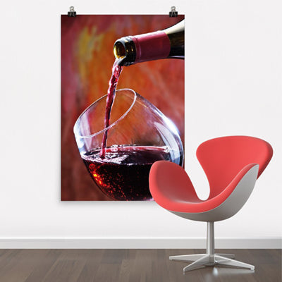 Wine Wall Art Poster