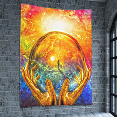Psychedelic Wall Tapestry
