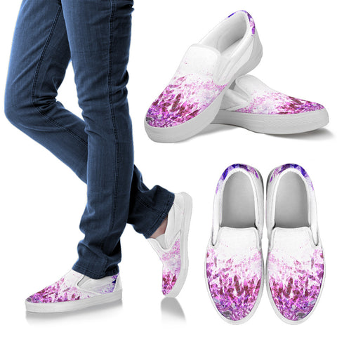 Surreal Bottom View Slip Ons