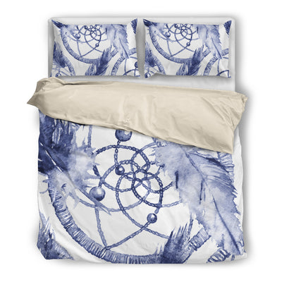 Watercolored Dream Catcher Bedding Set