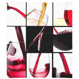 Luxurious Wine Collection Wall Tapestry