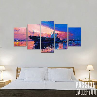 Cruise Wall Art Canvas