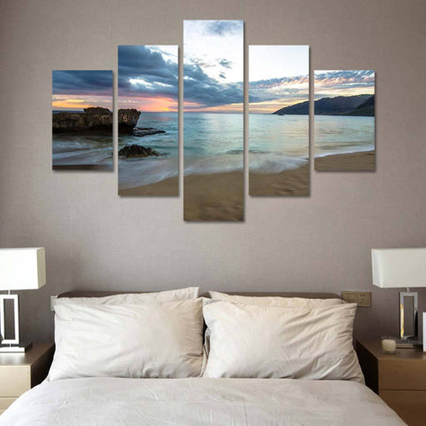 Ocean Breeze 5 Piece Canvas Wall Art Decor