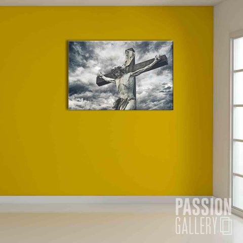 Statue of Jesus the Redeemer 1 Piece Canvas Wall Art Decor