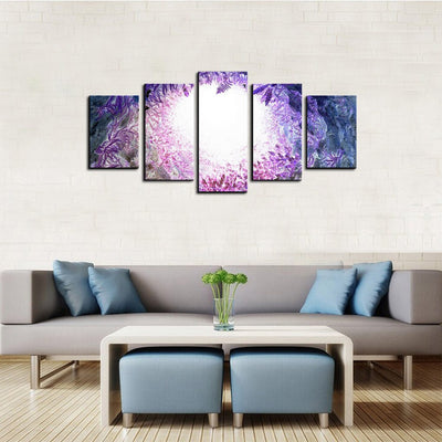 Surreal Bottom View 5 Piece Canvas Wall Art Decor