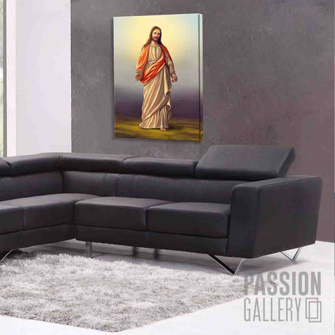 The Illustration of Jesus Christ 1 Piece Canvas Wall Art Decor